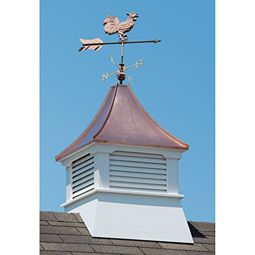 Accentua-Olympia-Cupola-with-Rooster-Weathervane-0