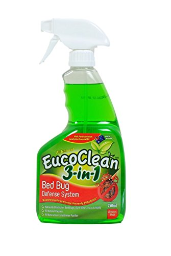 All Natural Eucoclean 3 In 1 Bed Bug Defense System 750ml