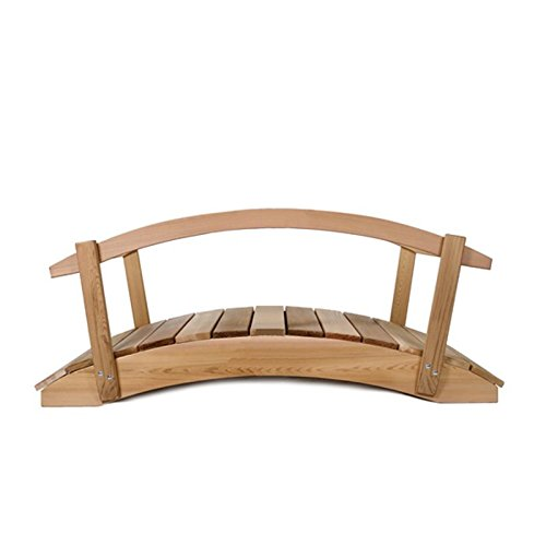 All-Things-Cedar-Hand-Crafted-Cedar-Garden-Bridge-with-Rails-0-0