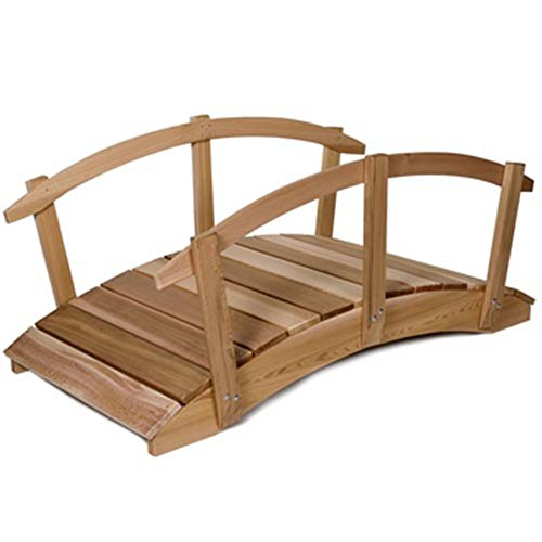 All-Things-Cedar-Hand-Crafted-Cedar-Garden-Bridge-with-Rails-0