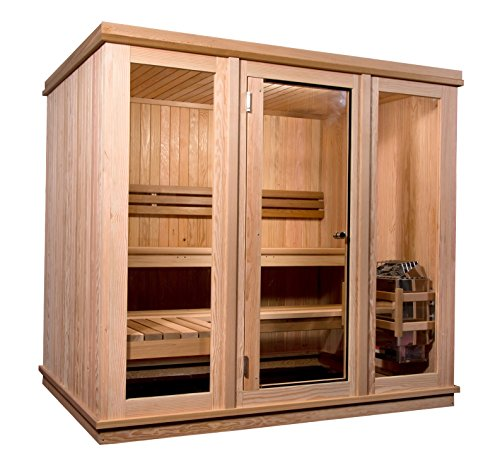 Almost-Heaven-Saunas-6-Person-Bridgeport-Indoor-Sauna-0