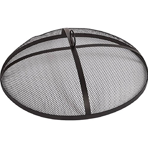 Alpine-Flame-25-inch-Mesh-Fire-Pit-Spark-Screen-Round-0