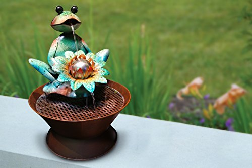 Alpine-MAZ102-Frog-Metal-Fountain-0-0
