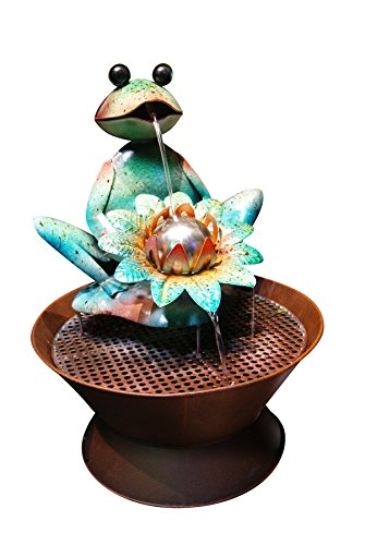 Alpine-MAZ102-Frog-Metal-Fountain-0
