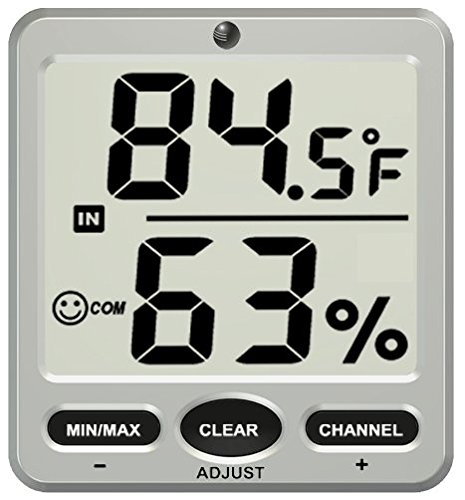Ambient-Weather-Big-Digit-8-Channel-Wireless-Thermo-Hygrometer-Display-0