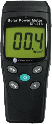 Ambient-Weather-TM-206-Solar-Power-Meter-Pyranometer-0