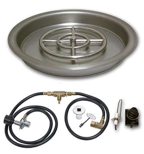 American-Fireglass-Round-Drop-In-Fire-Pit-Pan-With-Spark-Ignition-Kit-Propane-Version-0