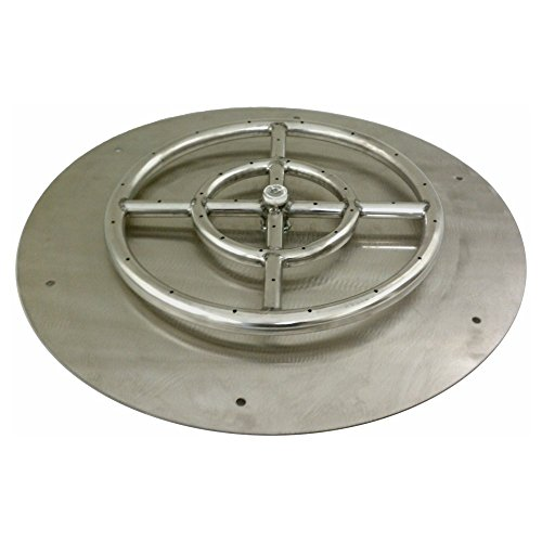 American-Fireglass-Round-Stainless-Steel-Flat-Fire-Pit-Burner-Pan-0