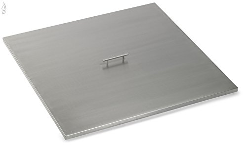 American-Fireglass-Stainless-Steel-Square-Fire-Pit-Pan-Cover-0