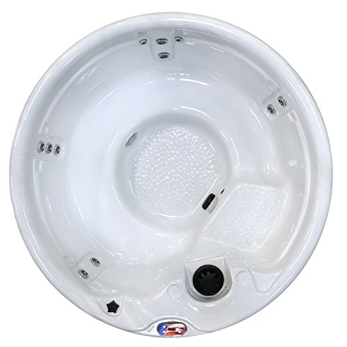 American-Spas-AM-511RM-5-Person-11-Jet-Round-Spa-with-Multi-Color-Spa-Light-0