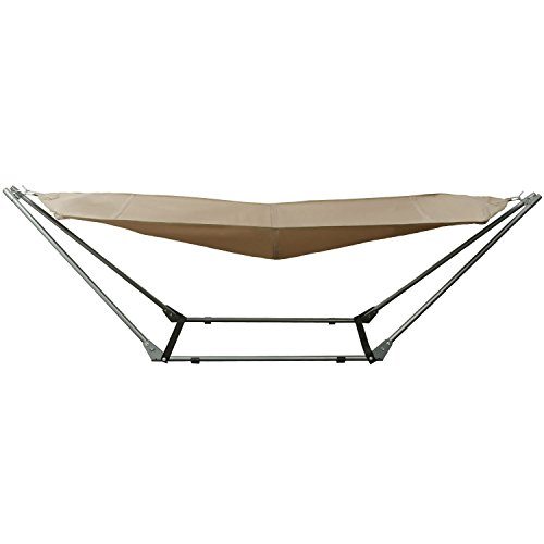 Ancheer-Portable-Outdoor-Canvas-Hammock-with-Stand-and-Carrying-Bag-with-Shoulder-Strap-0-0