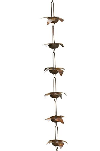 Ancient-Graffiti-Flamed-Bird-Rain-Chain-55-by-96-Inch-0