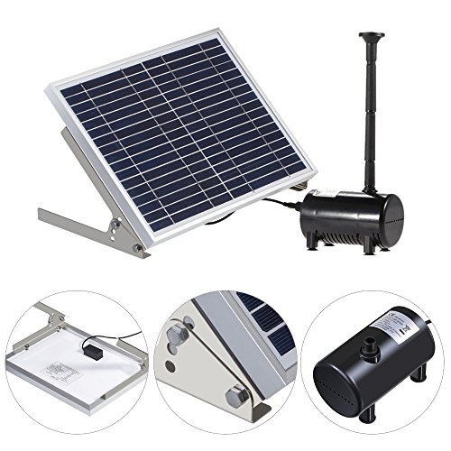 Anself-17V-10W-Solar-Power-Water-Pump-for-Garden-Pond-Fountains-Landscape-0-0