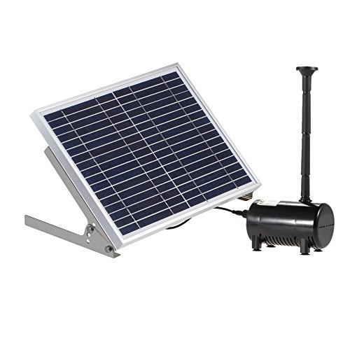 Cnz all in one pond filter system with 13w uv sterilizer for Solar water filter for ponds