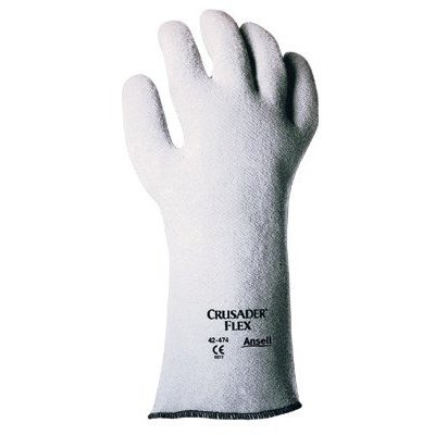 Ansell-Crusader-Flex-Hot-Mill-Gloves-209327-14-Gauntlet-Slip-On-Style-Added-Rear-Hea-012-42-474-9-209327-14-gauntlet-slip-on-style-added-rear-hea-Set-of-12-0