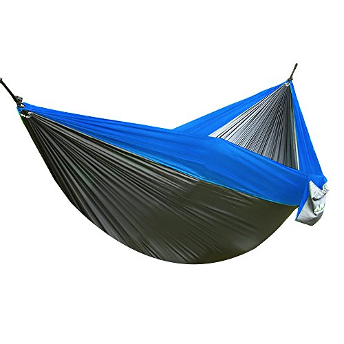 Arctic-Monsoon-Double-Hammock-210T-Parachute-Portable-Nylon-Fabric-2-Person-Camping-Hammock-with-Oxford-Tree-straps-0