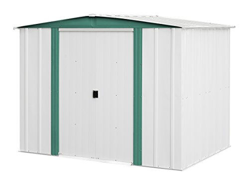 Arrow-Sheds-HM86-Hamlet-Steel-Storage-Shed-8-by-6-Feet-0