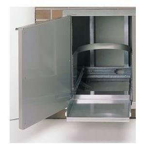 Aurora-Single-Access-Storage-Door-with-Tank-Tray-Hinged-Side-Left-0-0
