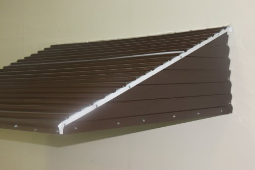 Awning Kit Aluminum Brown 46 Wide X 36 Droop X 15 Sides
