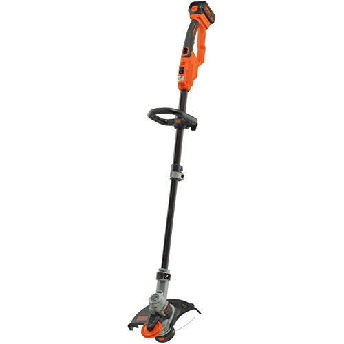 BLACK-DECKER-LST400-20-Volt-Lithium-String-Trimmer-Edger-with-4-Amp-Battery-TWO-YEARS-0
