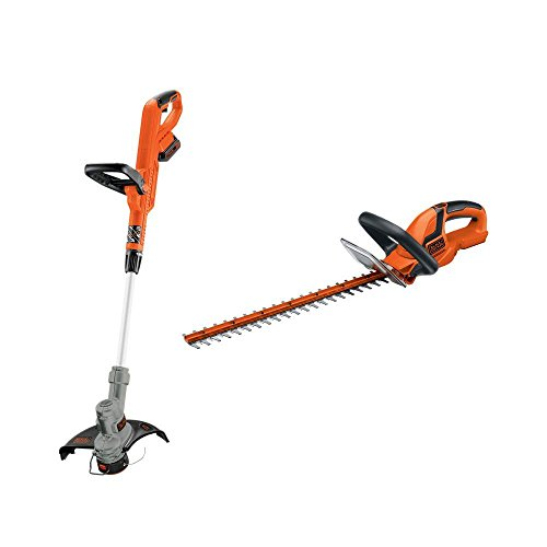 BLACKDECKER-LHT2220-22-Inch-Hedge-Trimmer-LST300-12-Inch-String-Trimmer-Edger-20-Volt-Max-Lithium-Ion-Cordless-Trimmer-Combo-Kit-Combo-Model-LCC301-0
