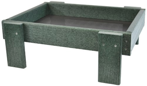 Backyard-Boys-Woodworking-GS26GR-Large-Platform-Feeder-Green-Set-of-2-0