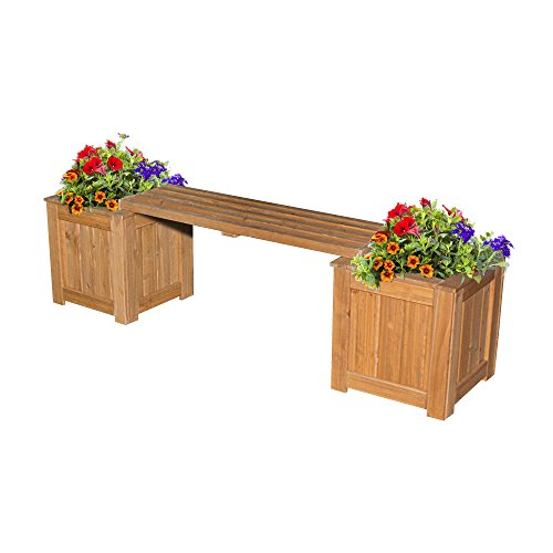 Backyard-Discovery-All-Cedar-Patio-Bench-with-Planters-0