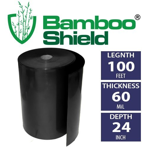 Bamboo-Shield-100-foot-long-x-24-inch-wide-60mil-bamboo-root-barrier-water-barrier-0
