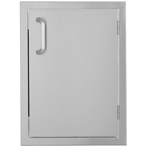 Bbqguyscom-Kingston-Series-14-inch-Stainless-Steel-Right-hinged-Single-Access-Door-Vertical-0