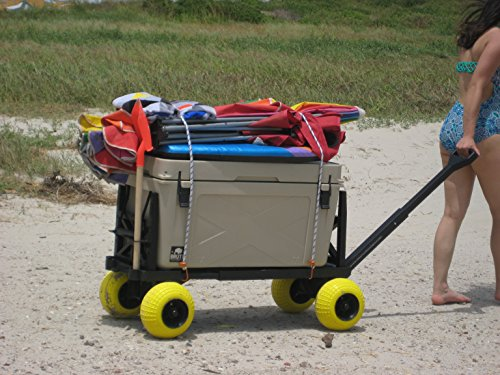 Beach-Wagon-Cart-for-Sand-with-Wheels-All-Terrain-Haul-Cooler-Umbrella-Chair-0