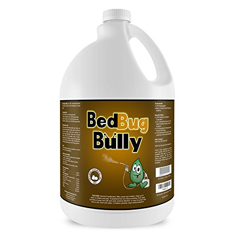 Bed-Bug-Killer-Prevention-Spray-by-Bed-Bug-Bully-Natural-Bed-Bug-Spray-Used-By-Professionals-Certified-By-AAES-and-Pesticide-Exempt-By-EPA-Child-Safe-Pet-Safe-1-Gallon-0