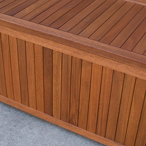 Belham-Living-Brighton-48-in-Outdoor-Storage-Deck-Box-with-Cushion-Natural-Durable-and-Comfortable-100-Polyester-Khaki-Cushion-0-1