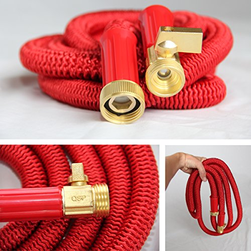 Best-100-Expanding-Hose-Strongest-Expandable-Garden-Hose-on-the-Planet-Solid-Brass-Ends-Double-Latex-Core-Extra-Strength-Fabric-2016-design-0-1