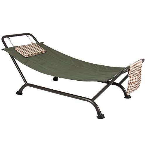Best-Choice-Products-Deluxe-Pillow-Hammock-With-Stand-Supports-500lb-Outdoor-Yard-Garden-Patio-Furniture-0