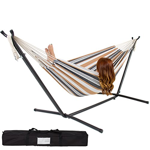 Best-Choice-Products-Double-Hammock-With-Space-Saving-Steel-Stand-Includes-Portable-Carrying-Case-0