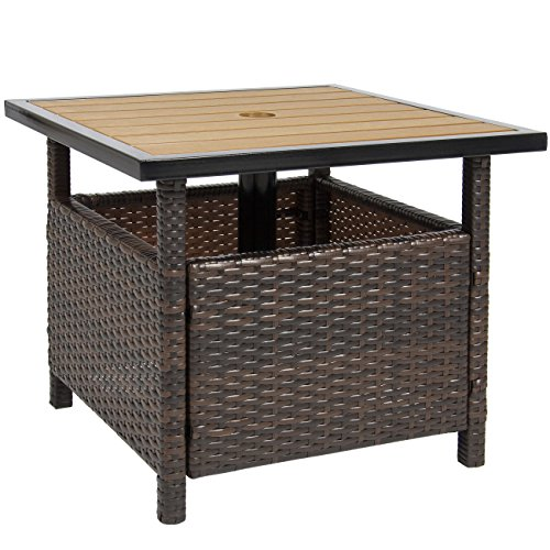 Best Choice Products Patio Umbrella Stand Wicker Rattan Outdoor Furniture  Garden Deck Pool $69.95 (as Of September 13, 2017, 8:01 Am)