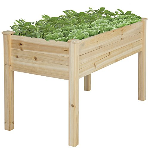 Best-Choice-Products-Raised-Vegetable-Garden-Bed-Elevated-Planter-Kit-Grow-Gardening-Vegetables-0