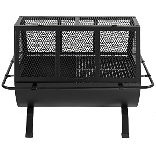 Best Choice Products Steel Grill Bbq Fire Pit Outdoor