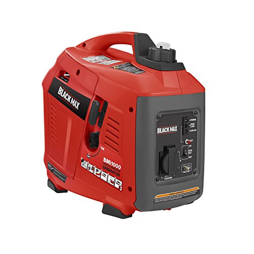 Black-Max-900W-1000W-Digital-Inverter-Generator-Gas-Powered-0