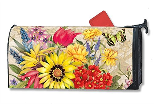 Botanical-Garden-Large-MailWraps-Mailbox-Cover-21323-by-MailWraps-0