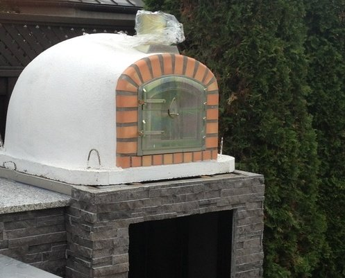 Brick Pizza Oven Insulated Wood Fired Handmade In