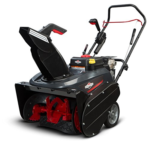 Briggs-Stratton-1696506-Single-Stage-Snow-Thrower-with-Snow-Shredder-Technology-and-Electric-Start-22-Inch-0