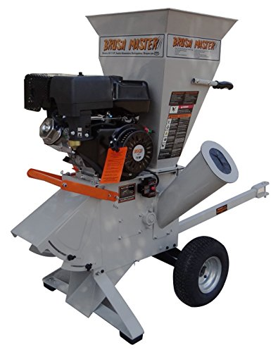 Brush-Master-15-HP-420cc-4-x-3-diameter-feed-commercial-Duty-120V-Electric-Start-Chipper-Shredder-0