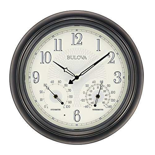 Bulova-Weather-Master-Outdoor-Wall-Clock-0