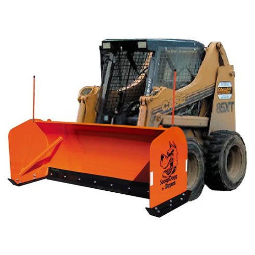 Buyers-Products-2603110-Skid-Steer-Snow-Pusher-10-Wide-0