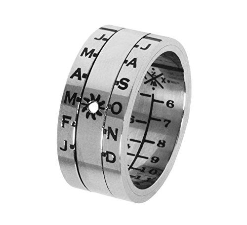 CALISH-Ring-Silver-Finish-Sundial-0
