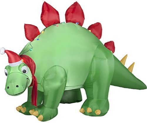 christmas inflatable 9 animated dinosaur outdoor yard decoration - Outdoor Christmas Inflatable Yard Decorations