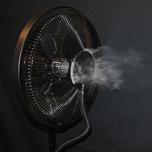 Cz500 Coolzone Ultrasonic Dry Misting Fan With Bluetooth