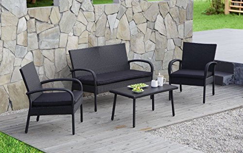 Carlota Furniture Patio Furniture Set Ideal For Outdoor