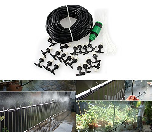 Carry360-20M-66FT-Garden-Outdoor-Patio-Home-Misting-Cooling-System-With-20PCS-Plastic-Mist-Nozzle-And-Quick-Coupling-Size-20M-Model-Home-Outdoor-Store-0